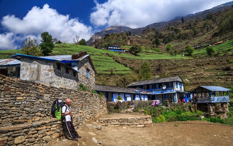 Ghurjung, Annapurna, Nepal