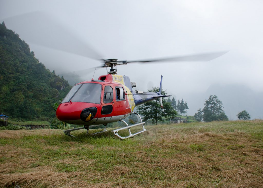 Rotation | Mountain Helicopters Nepal Pvt. Ltd. | Ecureuil AS 35