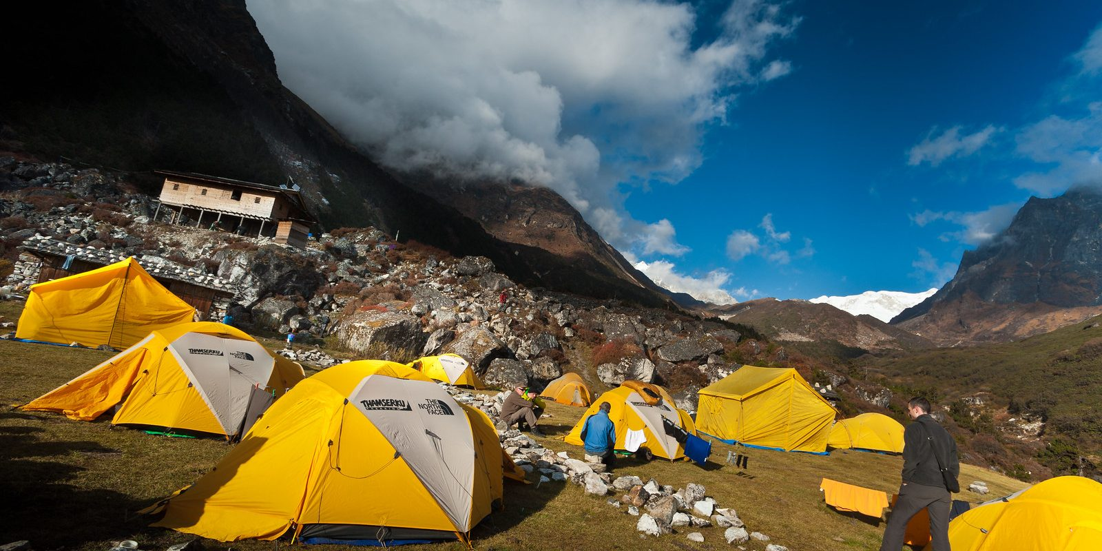 Camping & Observe The Remote Mountain Villages