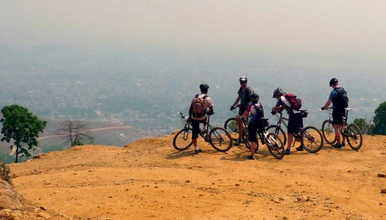 Mountain biking in Nepal | Shredding through high hills and himalayas.