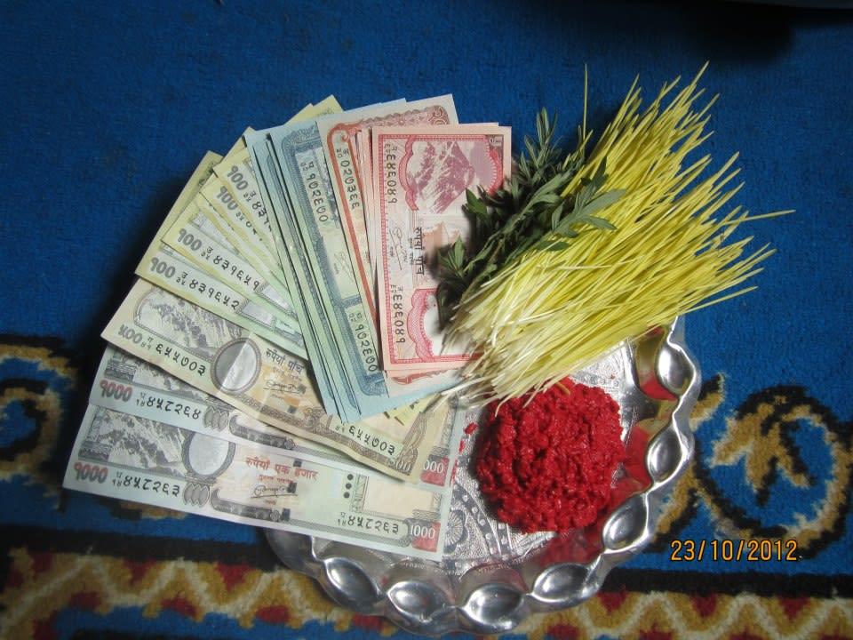 Tika and Jamara | The biggest festival of Nepal.