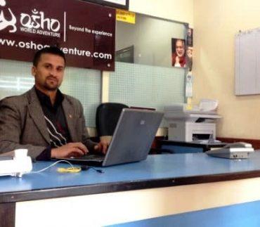 deepak khanal at work
